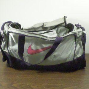 Nike Duffel Bag Pink, Purple, Gray / Nike Gym Bag